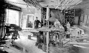 The Vevirit Lumber Company was a family business opened in 1921 on South Eighth Street. The family also operated a hardware store in the Hochkiss Building at 479 Center Street which is a real estate office today.