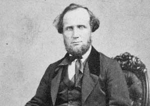 Cooke was an early surname associated with Lewiston. This is an image of Rev. Joshua Cooke. Cooke wrote in 1902 that his grandfather built a pioneer home on the site of Joncaire's structure in 1802. Bates and Lathrop Cooke were part of the Lewiston Railroad Company, which connected with the Lockport and Niagara Falls Railroad in 1835. Others were Jacob Townsend, Oliver Grace, Leonard Shepard, Joshua Fairbanks, Calvin Hotchkiss, Amos Tryon, Seymour Scovell, and Benjamin Barton.